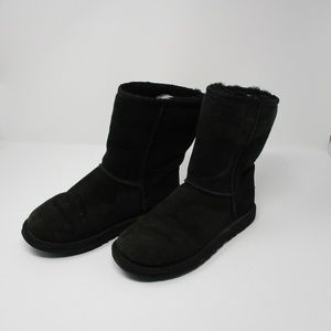 UGG Classic Black Boots Size 6